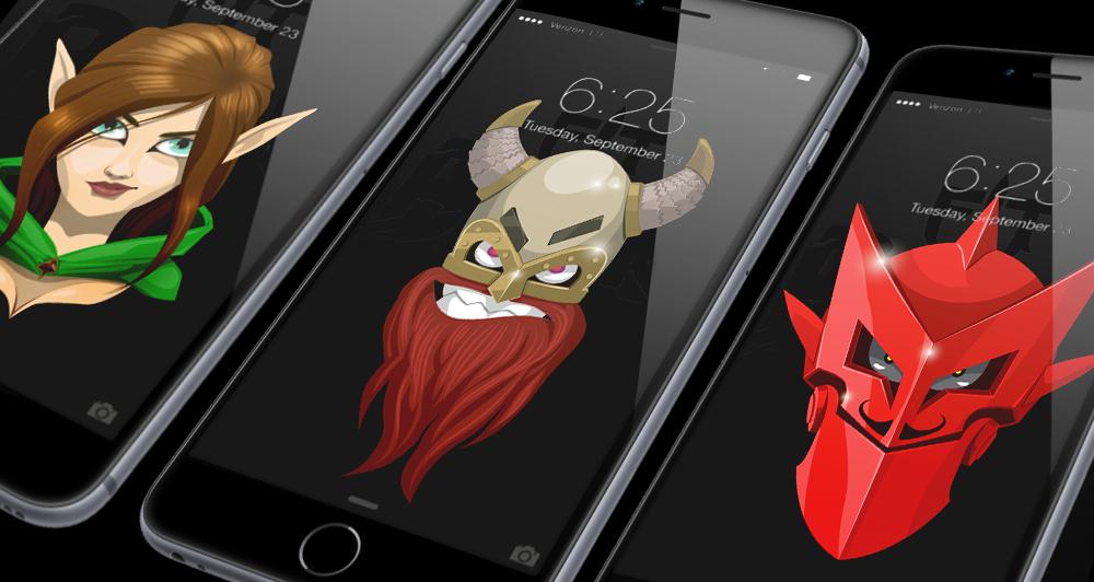 Fit for battle fantasy smartphone wallpapers fit for battle fit for battle fantasy smartphone wallpapers voltagebd Images